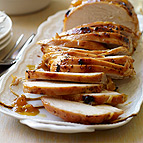 Apricot-Glazed Turkey and Sweet Potatoes